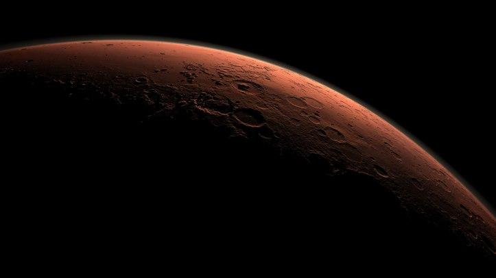 Rauða plánetan, Mars.