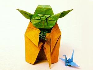 Yoyo-Ferro-Yoda-Origami