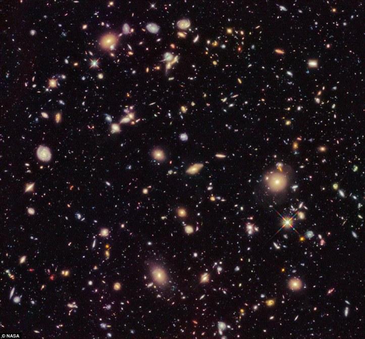 Hubble Deep Field North. Stóra dularfulla tómið sem reyndist allt annað en tómt.