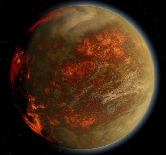 Gliese 436b er eldheitur íshnöttur