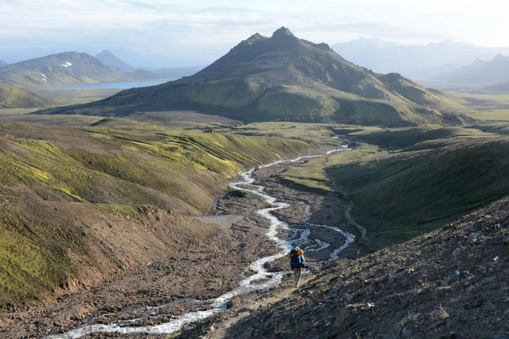 Hálendi Íslands er einstaklega fallegt svæði á heimsvísu. Mynd eftir Anna Andersen.